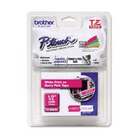 Brother TZEMQP35 Labelprinter tape - Roze