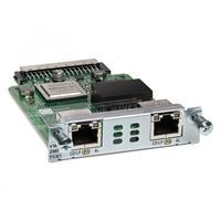 Cisco 2-Port T1/E1 Multiflex Trunk Voice/WAN Interface Card, Spare Stem netwerk modules - Refurbished B-Grade