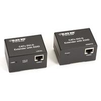 Black Box Extender CATx DVI-D Single Link Rallonges AV - Noir