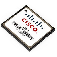 Cisco 512MB Compact Flash for 1900, 2900, 3900 ISR, Spare