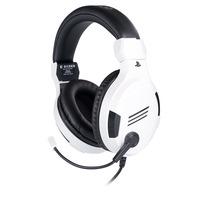 BIG BEN PS4OFHEADSETV3WHITE Headset - Zwart,Wit