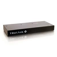 C2G TruLink 2-port DVI-D splitter with HDCP Videosplitter - Zwart