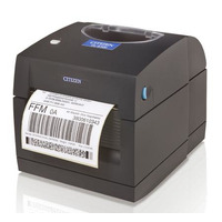 Citizen CL-S300, DT, USB, Grey Label printer Labelprinter - Zwart