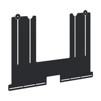 Iiyama Fixation de barre de son universelle pour les supports de sol et supports mural - Noir