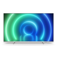 """Philips 4K, UHD, 55"""", 3840 x 2160, 16:9, HDR10+, AndroidTV, Wi-Fi, Bluetooth 5, LAN, HDMI TV LED - Argent"""
