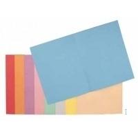 Esselte Pochette d'insertion de bureau de couleur vive avec onglet Fichier - Lilas