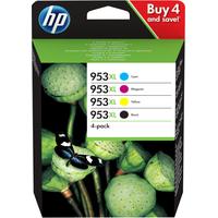 HP 953XL Inktcartridge - Zwart,Cyaan,Magenta,Geel