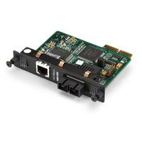 Black Box High-Density Media Converter System II, Layer 1 Module, 100BASE-TX to 100BASE-FX, Multimode, .....
