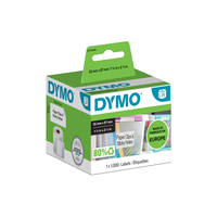 DYMO LW - Multi-Purpose Labels - 32 x 57 mm - S0722540 Etiket - Wit