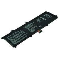 2-Power 7.4V 5000mAh Li-Polymer Laptop Battery Laptop reserve onderdelen - Zwart