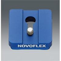 "Novoflex Standard-Klemmplatte mit 1/4"" Gewinde Accessoire de trépied"