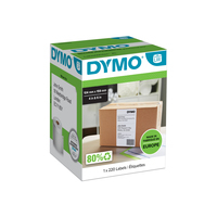 DYMO LW - Extra Large Shipping Labels - 104 x 159 mm - S0904980 Etiket - Wit
