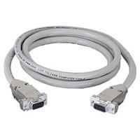 Black Box Rallonge DB9 avec capot blindé Câble série - Beige