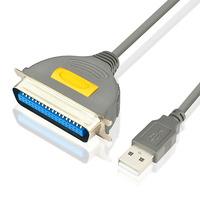 Axagon ADP-1P36 USB printer adapter, 1.5 m Printerkabel - Grijs
