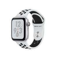 Apple Nike+ Series 4 avec boîtier en aluminium en argent avec Bracelet Sport Nike Platine Pur/Noir 40 mm .....