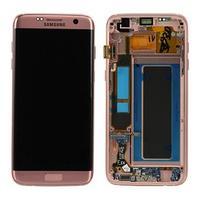 Samsung G935F Galaxy S7 Edge LCD Display Module Pièces de rechange de téléphones mobiles - Rose doré