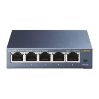 TP-LINK TL-SG105 Switch - Zwart