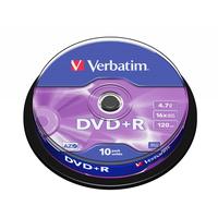 Verbatim DVD+R Matt Silver DVD vierge