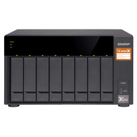 QNAP TS-832X NAS - Zwart