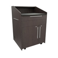 "Middle Atlantic Products L5 Series Preconfigured Lectern, 33"" W x 31"" D x 39"" H, Asian Night, 2 ....."