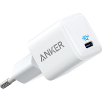 Anker PowerPort III Nano-20W version EU Oplader - Wit
