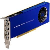 AMD RADEON PRO WX 4100 Videokaart - Blauw
