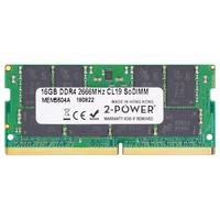 2-Power 16GB DDR4 2666MHz CL19 SoDIMM Memory RAM-geheugen