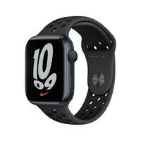Apple Watch Nike Series 7 (2021) GPS 45mm Midnight Smartwatch