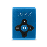 Difrnce Denver MP3-player MPS-409BLUEMK2 4GB Lecteurs et enregistreurs MP3/MP4