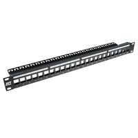 ACT Pp1030 24 port keystone panel Patchpaneel