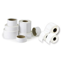 DTM Print Paper High Gloss Etiket - Wit