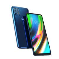 Motorola Moto G G9 Plus Smartphone - Bleu 128GB
