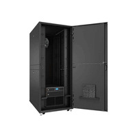 Vertiv VRC-S integrated micro data center 42U 800x1200 with 3.5kW low ambient split cooling, 6kVA UPS, managed .....