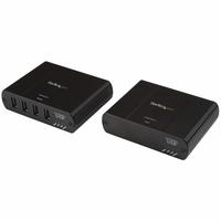 StarTech.com Extendeur 4 Ports USB 2.0 sur LAN Gigabit ou Connexion Directe Ethernet Cat5e / Cat6 jusqu'à .....