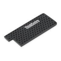 Lenovo ThinkCentre Tiny IV 1L Dust Shield Pièce du boîtier de l'ordinateur - Noir