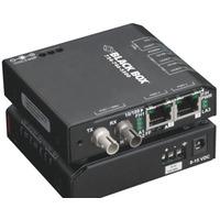 Black Box Convertisseur-switch 10/100 version standard Convertisseur réseau média - Noir
