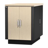 APC NetShelter CX 18U Geluiddempende en geventileerde 'Server Room in a Box' Stellingen/racks - Grijs