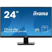 "Iiyama ProLite 23.8"" IPS with ultra-slim bezel and ultra-flat front Monitor - Zwart"