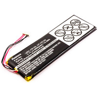 CoreParts 13.3Wh Remote Control Battery, Li-Pol 3.7V 3600mAh - Zwart,Rood,Wit,Geel
