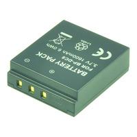 2-Power Digitale Camera Accu 3,7V 1300mAh