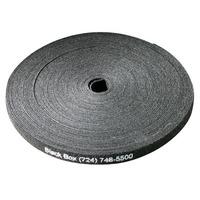 """Black Box Hook and Loop Bundle Wrap, 5/8"""" (1.5-cm) Wide, Black, (8) 75-ft. Rolls (600-ft) Kabelbinder - Zwart"""