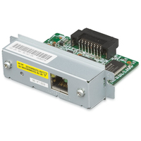 Epson UB-E04: 10/100 BaseT Ethernet I/F Board Pièces de rechange pour équipement d'impression - Argent
