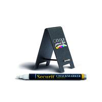 Securit TAG-SBS-WT Whiteboard - Zwart