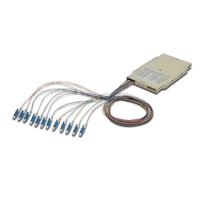 Digitus Professional Splice cassette with 12 pigtails, pre-assembled, LC, OM4 Glasvezel-adapters