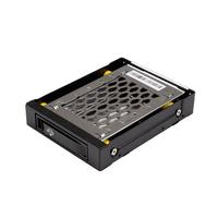 """StarTech.com 2.5 SATA schijf hot swap bay voor 3.5"""" bay anti-vibratie Drive bay paneel - Zwart"""