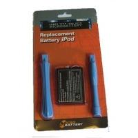 CoreParts Battery 3.7V 750mAh IPOD-4 MP3 - Zilver