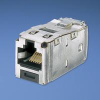 Panduit Mini-Com® TX6™ 10Gig™ Shielded Jack Module - TG Style Kabel adapter - Grijs