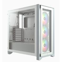 Corsair iCUE 4000X RGB Boîtier d'ordinateur - Blanc