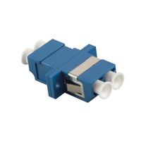 LogiLink LC/LC Adaptateurs de fibres optiques - Bleu