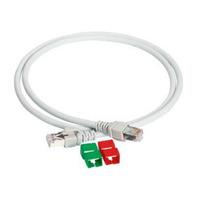 APC Patchcord S/FTP, 4P, Cat6A, 550MHz, LSZH, 10m, Grey Câble de réseau - Gris